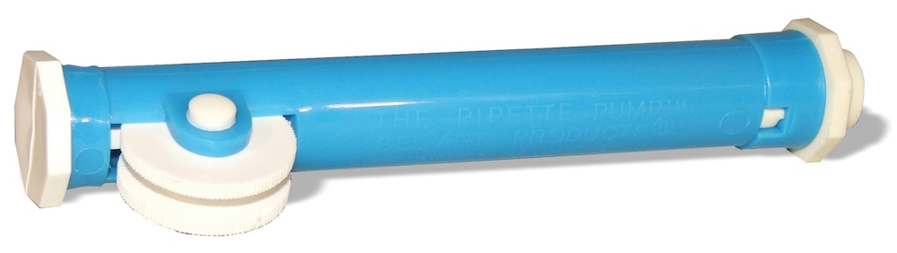 Pipetter (Pipette Pump), Blue for 2 ml pipette